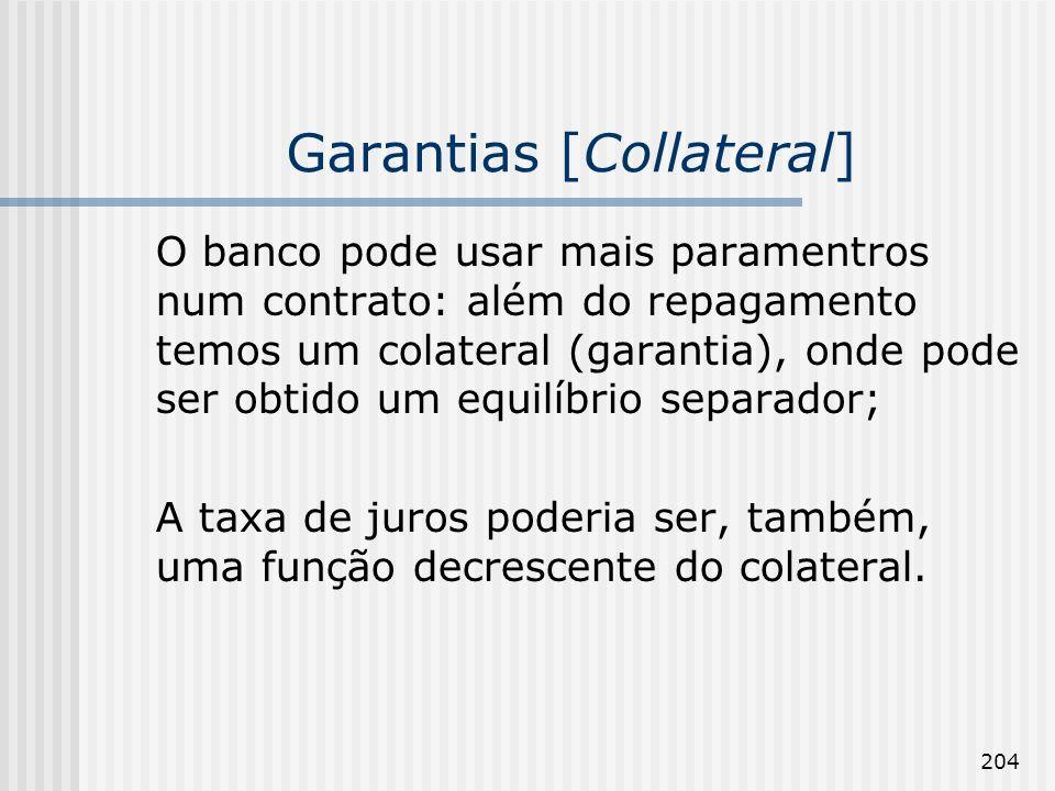 Garantias [Collateral]